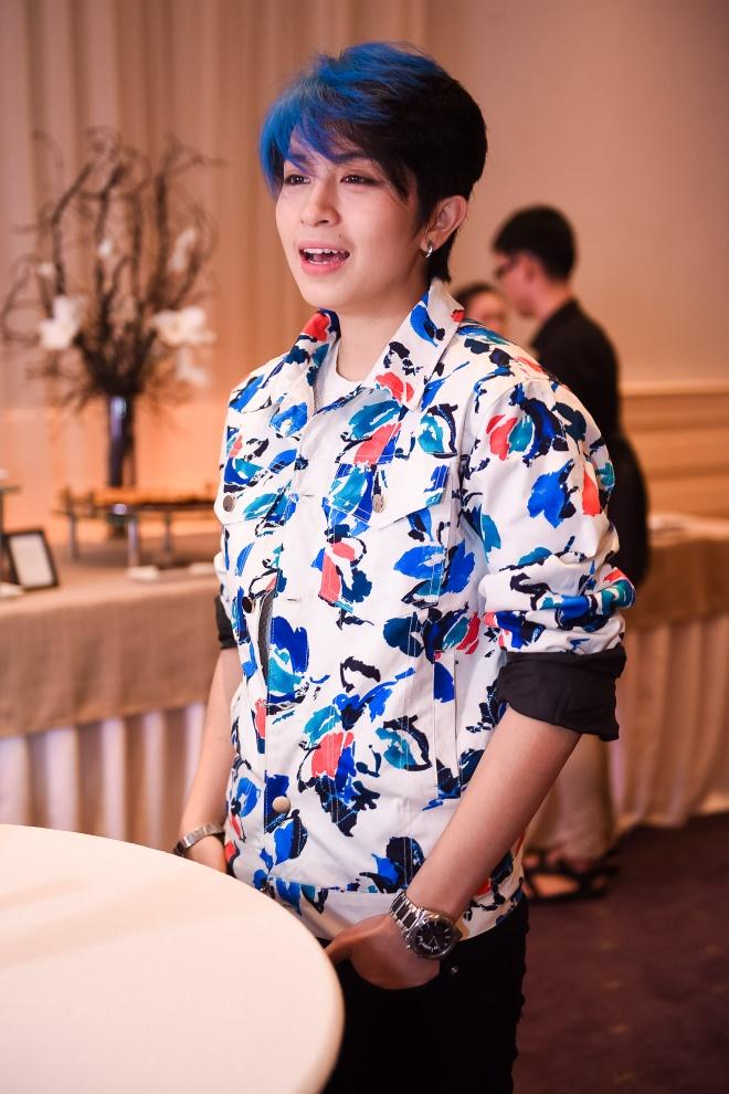 Thanh Duy - Huong Giang tinh nghich o su kien hinh anh 4