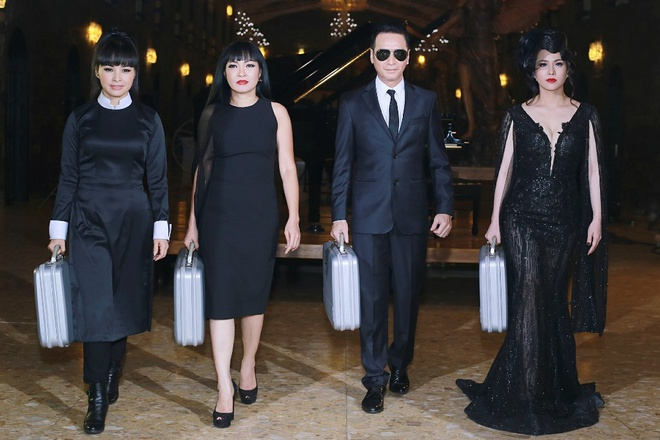 Phuong Thanh, Nguyen Hung an tuong trong chuong trinh moi hinh anh 1
