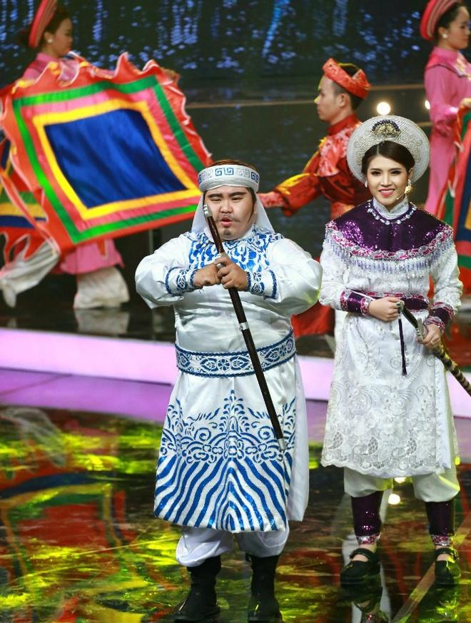 Phuong Thanh, Nguyen Hung an tuong trong chuong trinh moi hinh anh 10