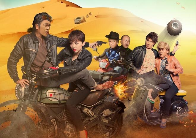 Phim dien anh 'Gia gan' cua Hoai Linh duoc phat song hinh anh 1