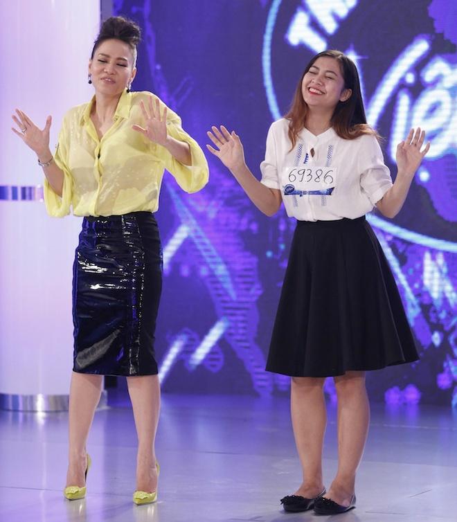 Thu Minh day thi sinh Vietnam Idol cach hat la loi hinh anh 3