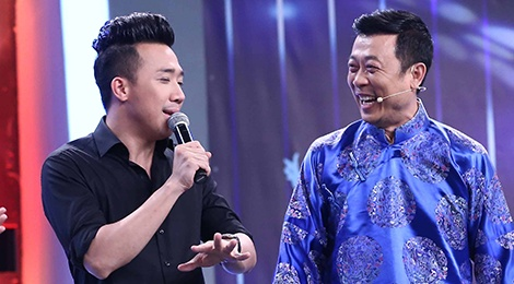 Van Son - Hong Dao treu Tran Thanh lam MC dam cuoi hinh anh