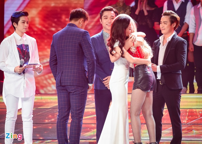 Nhom nhac cua Yanbi bi loai khoi X Factor hinh anh 5