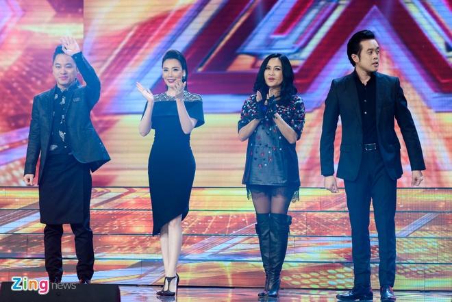 Nhom nhac cua Yanbi bi loai khoi X Factor hinh anh 1