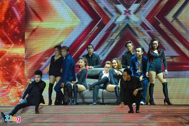 Nhom nhac cua Yanbi bi loai khoi X Factor hinh anh 2