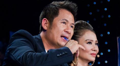 Bang Kieu che thi sinh Vietnam Idol hat tieng Anh ngo nghe hinh anh