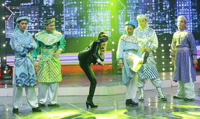 Vo Minh Lam xo nga co dau, cuop chu re o game show hinh anh 6