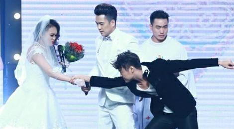 Vo Minh Lam xo nga co dau, cuop chu re o game show hinh anh