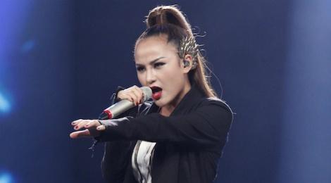 Thi sinh Vietnam Idol pha hit cua Noo Phuoc Thinh hinh anh