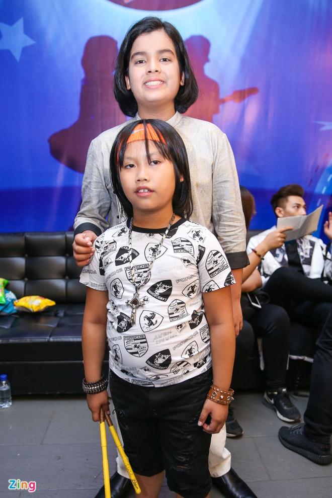 Ba me Ho Van Cuong len Sai Gon co vu con trai thi hat hinh anh 8