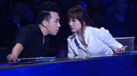 Chi Tai ngo thi sinh xui Hari Won chia tay Tran Thanh hinh anh
