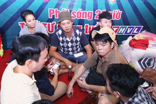 Tran Thanh cover hit cua Hari Won tren truong quay hinh anh 8