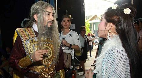Cha con NSUT Kim Tu Long tai hien vo 'Trong Thuy – My Chau' hinh anh
