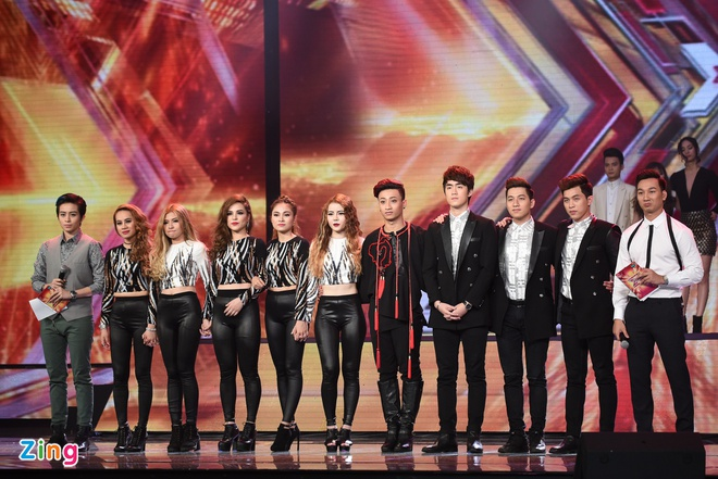 Live show 7 X Factor anh 12