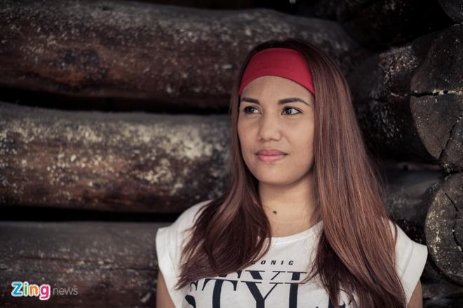 Co gai Philippines cua VN Idol ke chuyen lay chong Viet Nam hinh anh 2