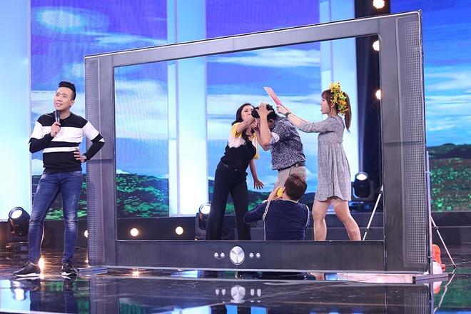 Hari Won nguong do mat khi Tran Thanh muon 'yeu den co bau' hinh anh 8