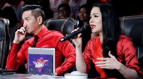 Nguyen Hung va Nhat Kim Anh tranh luan gay gat tren ghe nong hinh anh