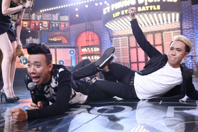 Tran Thanh bi Nam Thu, Anh Duc danh trong game show hinh anh 7