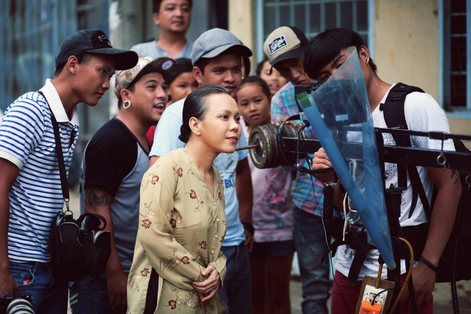 Viet Huong gay xuc dong voi phim ngan ve me trong mua Vu lan hinh anh 10
