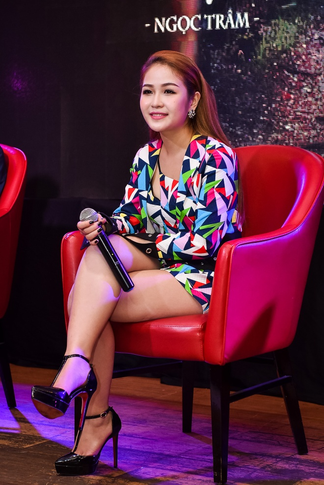 Ngoc Tram The Voice ra mat MV moi anh 8