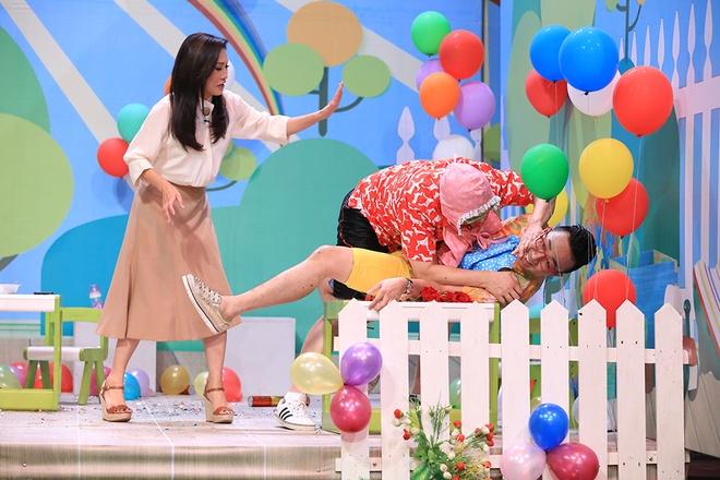 Game show co Tran Thanh, Truong Giang bi che trong tap dau hinh anh 2
