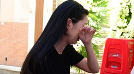 Trinh Kim Chi khoc nuc no khi toi tien biet Minh Thuan hinh anh