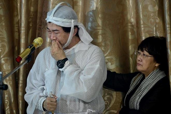 Que Tran khoc nuc no trong le an tang NSND Thanh Tong hinh anh 2