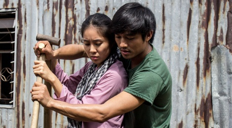 Quy Binh – Le Phuong yeu nhau trong 'Song pho nha ghe' hinh anh