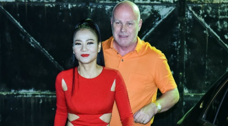 Chong Tay thap tung Thu Minh den chung ket Vietnam Idol hinh anh
