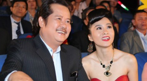 Vo chong 'Hai Lua' Thanh Nam - Xuan Huong tai ngo trong phim hinh anh