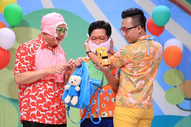 15 game show dang co Tran Thanh - Truong Giang  tham gia hinh anh 1