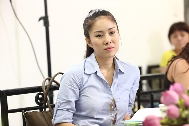 Tim - Truong Quynh Anh tinh tu trong buoi doc kich ban hinh anh 6