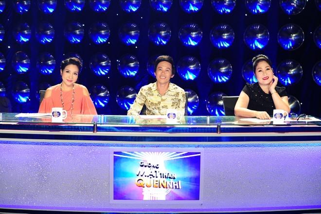 Hoai Linh che thi sinh gia Ho Ngoc Ha giong Ho Quynh Huong hinh anh 3