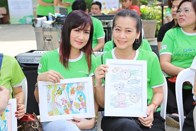 Nguyen Vu vui voi 500 hoc sinh ngheo o TP.HCM hinh anh 11