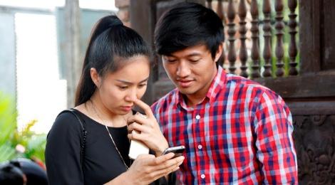 Quy Binh: 'Duyen cua toi va Le Phuong chi o tren man anh' hinh anh