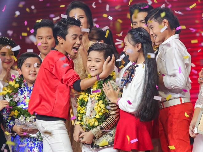 Nhat Minh tro thanh quan quan The Voice Kids 2016 hinh anh 16