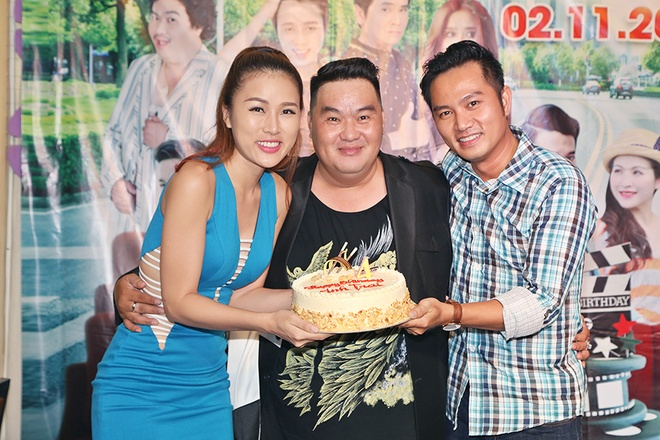 Huy Khanh, Vy Oanh den chuc mung sinh nhat Hoang Map hinh anh 9