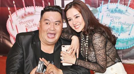 Huy Khanh, Vy Oanh den chuc mung sinh nhat Hoang Map hinh anh