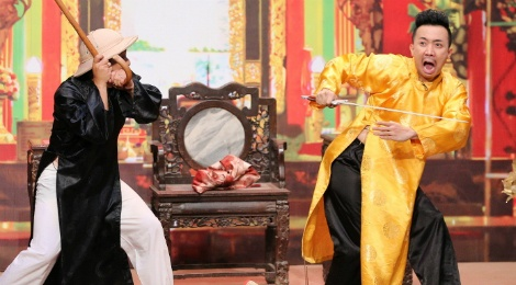 Hoai Linh, Tran Thanh bi pha kich ban o On gioi cau day roi hinh anh