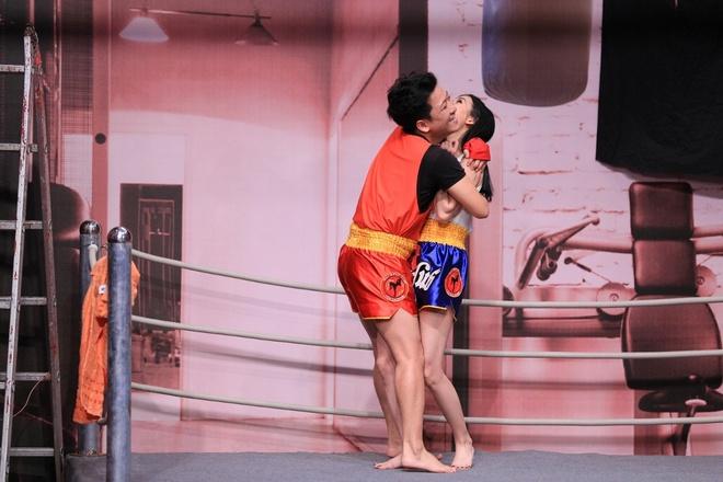 Truong Giang lien tuc om hon tinh cu Tran Thanh o On gioi hinh anh 3