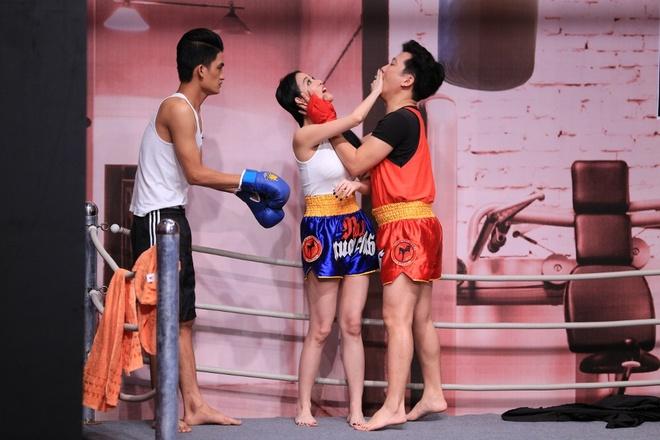 Truong Giang lien tuc om hon tinh cu Tran Thanh o On gioi hinh anh 6