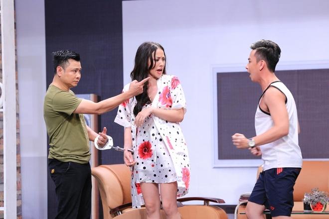 Truong Giang lien tuc om hon tinh cu Tran Thanh o On gioi hinh anh 9