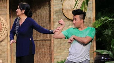 Tran Thanh hoa thang kho lay nuoc mat nguoi xem o On gioi hinh anh