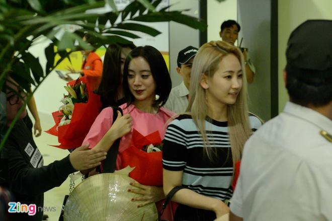 Nhom nhac Wonder Girls sang Viet Nam anh 2