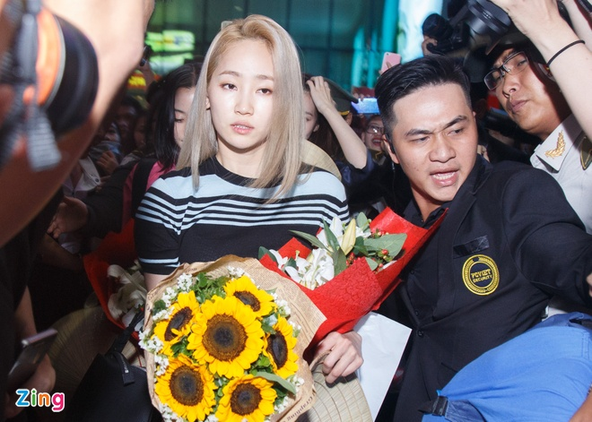 Nhom nhac Wonder Girls sang Viet Nam anh 5