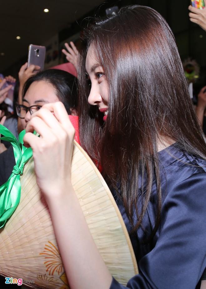 Nhom nhac Wonder Girls sang Viet Nam anh 8