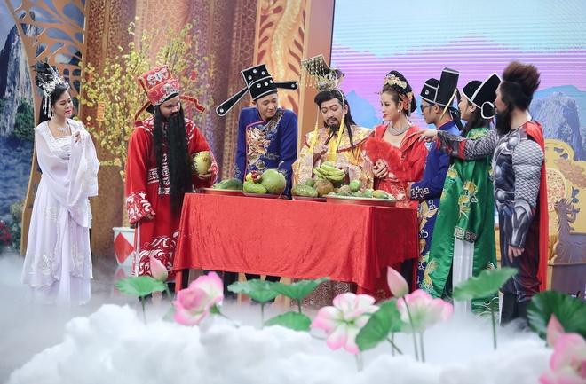 Truong Giang lan dau hoa Ngoc Hoang tren truyen hinh hinh anh 3