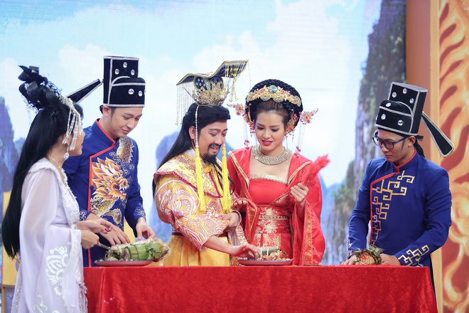 Truong Giang lan dau hoa Ngoc Hoang tren truyen hinh hinh anh 2