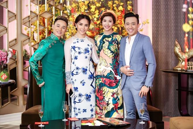 Tran Thanh hao hung ban chuyen nam Dau voi a hau Thien Ly hinh anh 1