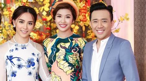 Tran Thanh hao hung ban chuyen nam Dau voi a hau Thien Ly hinh anh